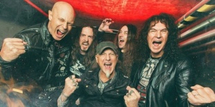 Accept - A heavy metal legenda Barba Negra Music Clubban