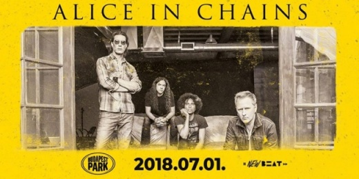 Alice In Chains a Budapest Parkban!<br><small><small><small>