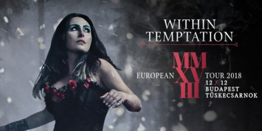 Within Temptation: decemberben Budapesten<br><small><small><small>