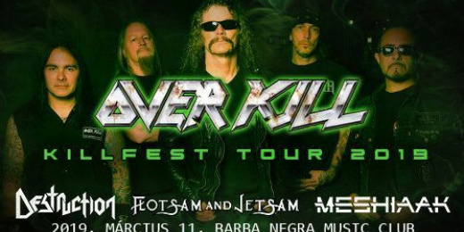 Killfest 2019 - Overkill, Destruction, Flotsam And Jetsam<br><small><small><small>