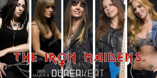 The Iron Maidens: Maiden tribute 2019-ben a Durerben<br><small><small><small>