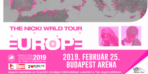 Nicki Minaj the Nicki WRLD tour and Juice WRLD  <br><small><small><small>