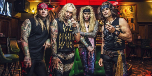 Steel Panther Budapesten<br><small><small><small>
